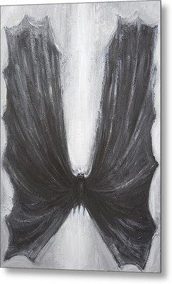 Black Bat Metal Print by Kazuya Akimoto