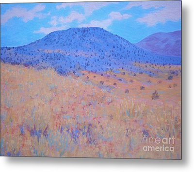 Metal Print featuring the painting Black Butte by Suzanne McKay