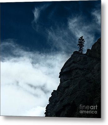 Metal Print featuring the photograph Black Cliff by Dana DiPasquale