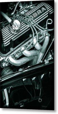 Black Cobra - Ford Cobra Engines Metal Print