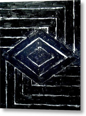Black Diamonds Metal Print by Kazuya Akimoto