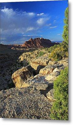 Black Dragon Canyon Vista Metal Print