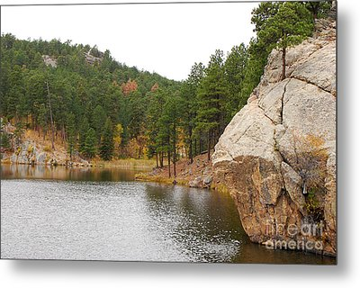 Metal Print featuring the photograph Black Hills Lake by Mary Carol Story