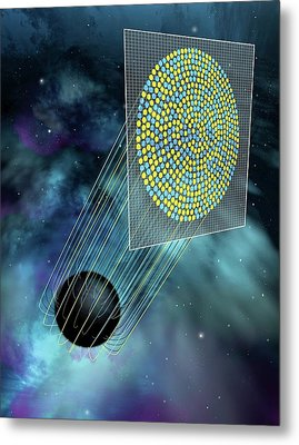 Black Hole Holography Metal Print