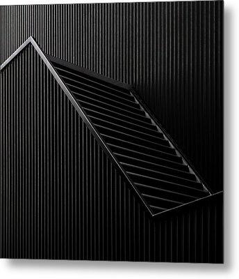 Black Light Metal Print by Gilbert Claes