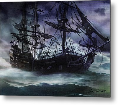 Black Pearl - Troubles Again Metal Print