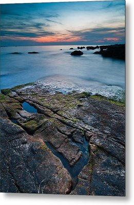 Black Rock Metal Print by Davorin Mance