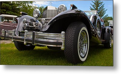 Metal Print featuring the photograph Black Rod by Mick Flynn