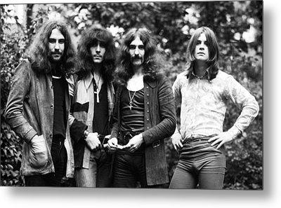 Black Sabbath 1970 Metal Print by Chris Walter