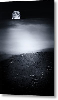 Black Sweet Metal Print