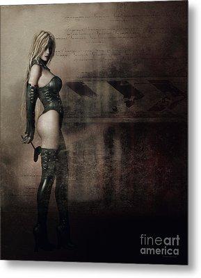 Blackheart Metal Print by Shanina Conway