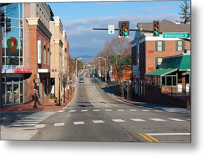 Blacksburg Virginia Metal Print by Melinda Fawver
