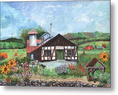 Blacksmith Shop Metal Print by William Killen