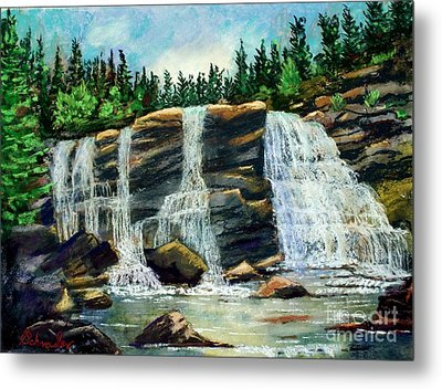 Blackwater Falls Metal Print by Bruce Schrader