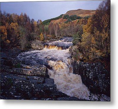 Blackwater Falls - Scotland Metal Print