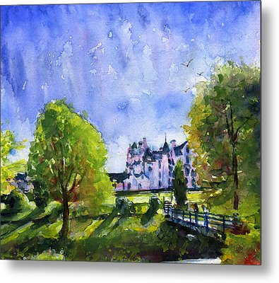 Blair Castle Bridge Scotland Metal Print