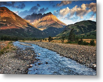 Blakiston Creek Metal Print by Mark Kiver