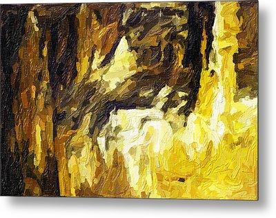 Blanchard Springs Caverns-arkansas Series 02 Metal Print by David Allen Pierson