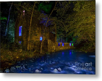 Blanchard's Mill Metal Print by Keith Kapple