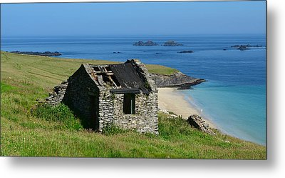 Blasket Island Metal Print by Barbara Walsh
