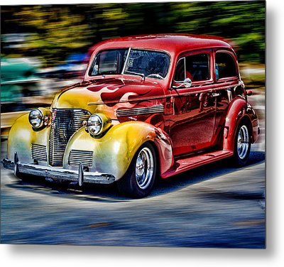 Blast From The Past Metal Print by Larry Bishop