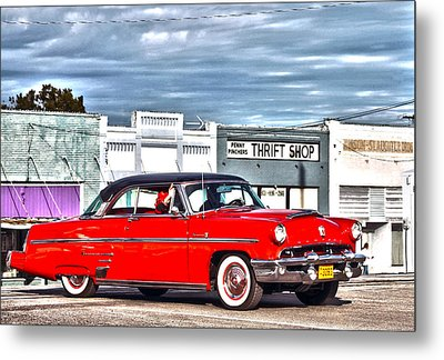 Blast From The Past Metal Print by Lorri Crossno
