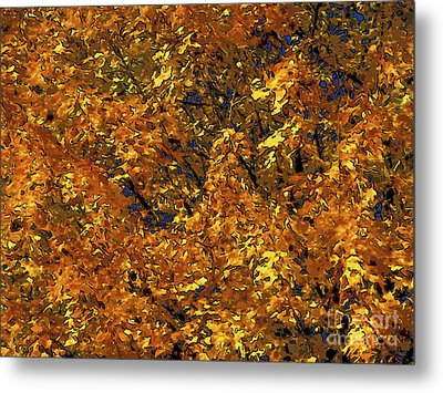 Blast Of Autumn Metal Print