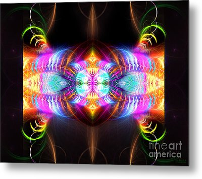 Blast Of Colors Metal Print by Hanza Turgul