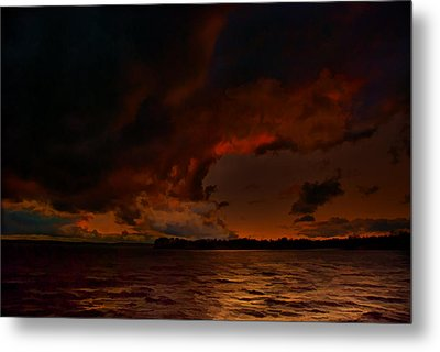 Blazing Glory Metal Print