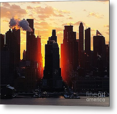 Blazing Morning Sun Metal Print