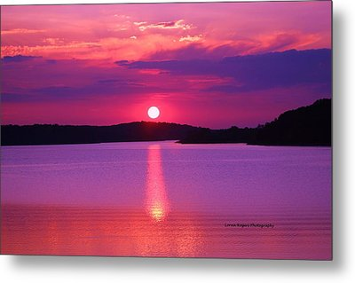 Blazing Sunset Metal Print