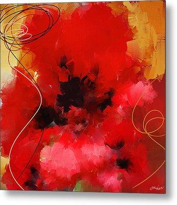 Blazingly Poppies Metal Print