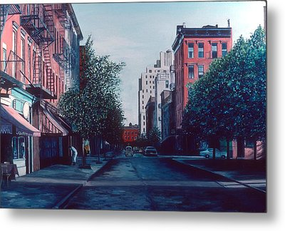 Bleeker Street Metal Print by Anthony Butera