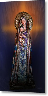 Blessed Be Metal Print by Xueling Zou