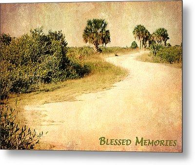 Blessed Memories Metal Print by Dawn Currie