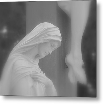Blessed Mother Metal Print by Beth Vincent