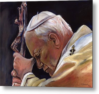 Blessed Pope John Paul II  Image 2 Metal Print