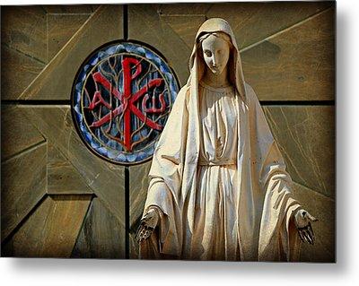 Blessed Virgin Mary -- Nazareth Metal Print