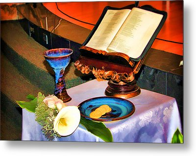 Metal Print featuring the photograph Blessings-benediciones by Eleanor Abramson
