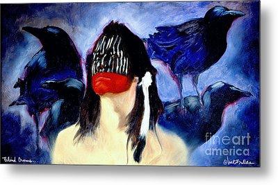 Blind Crows... Metal Print by Will Bullas
