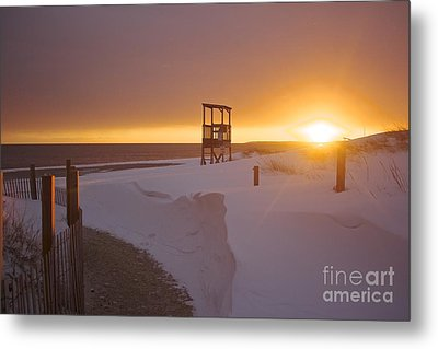 Blinded By The Sun Metal Print by Amazing Jules