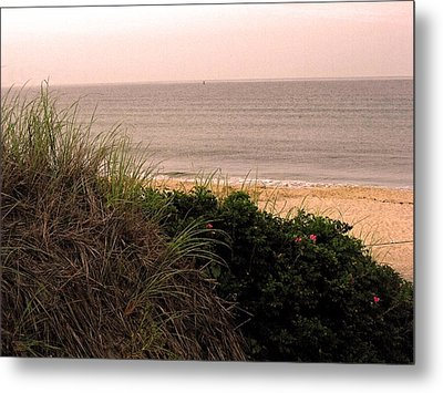 Block Island Beach Metal Print