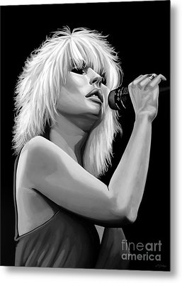 Blondie Metal Print by Meijering Manupix