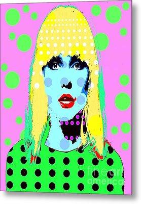 Blondie Metal Print by Ricky Sencion