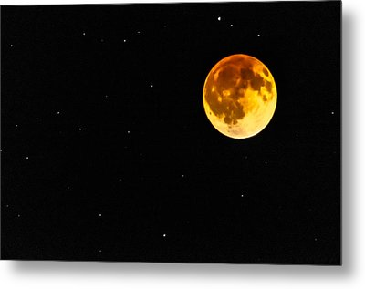 Blood Eclipse Metal Print