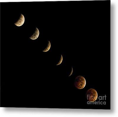 Blood Moon Metal Print by James Dean