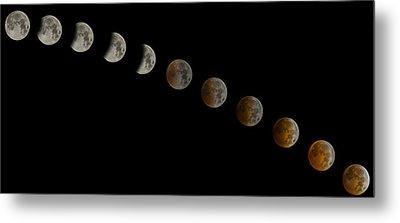 Blood Moon Eclipse Metal Print by Jeremy Jensen