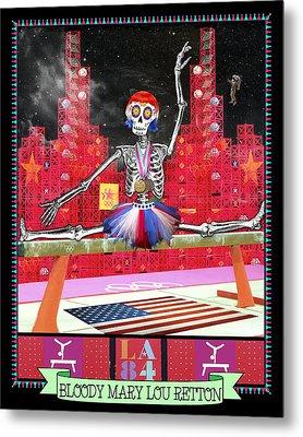 Bloody Mary Lou Retton Metal Print by Tammy Wetzel