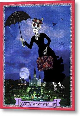 Bloody Mary Poppins Metal Print by Tammy Wetzel