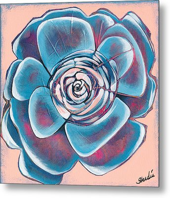 Bloom I Metal Print by Shadia Derbyshire